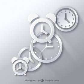 Clockベクター画像Freepikによるデザイン