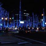 大阪中之島ウエストのクリスマスイルミネーション☆ 期間と混雑状況