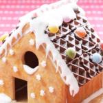 お菓子の家を簡単キットで作ろう☆バレンタインは親子で手作り!