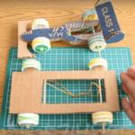 夏休みの工作で車作りにチャレンジ!小学生が一人でできる作り方