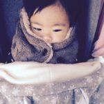 簡単!抱っこ紐用の防寒ケープを手作り、作り方を詳しく説明